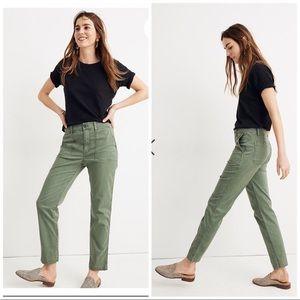 green Madewell pants